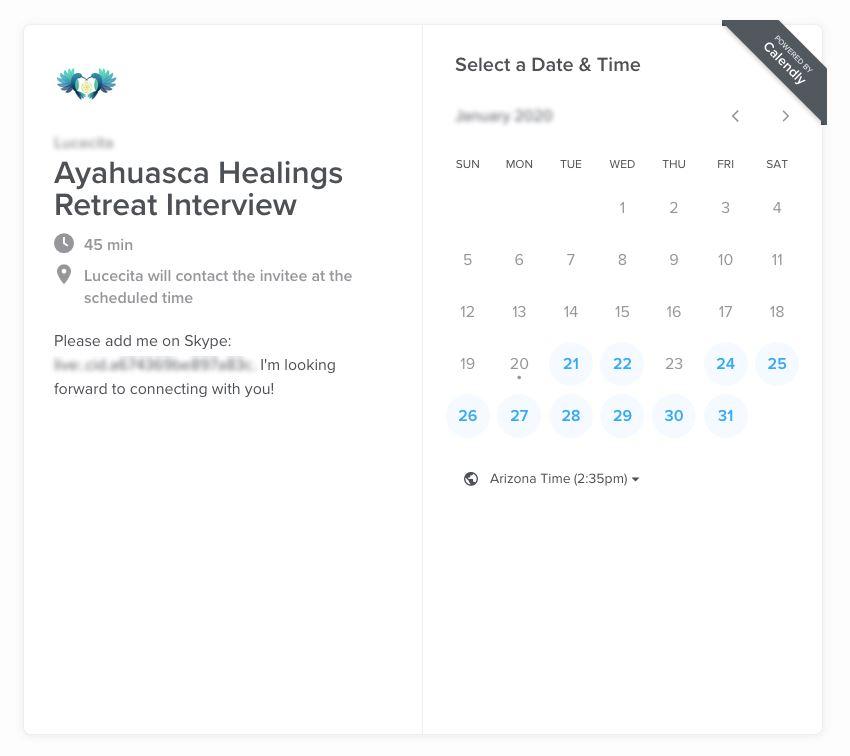 retreat schedule
